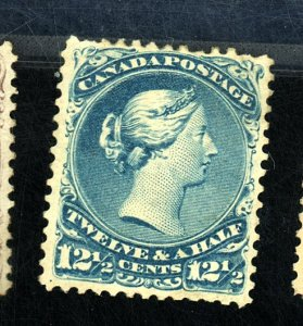 CANADA #28 MINT F-VF OG HR Cat $1,250