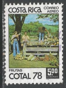 COSTA RICA C709 VFU Y856