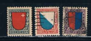 Switzerland B15-17 MLH Used Set (S0303)