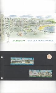 Isle of Man 331-4 Europa 87  MNH Presentation Folder