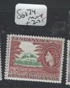 KENYA, UGANDA, TANGANYIKA   (PP0106B)  QEII  65C  SG 174   MNH