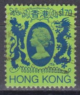 Hong Kong #398A F-VF Used (ST758)