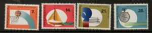PAPUA NEW GUINEA SG200/3 1971 SOUTH PACIFIC GAMES MNH