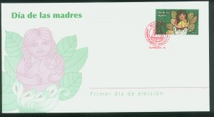 MEXICO 2573,  Mothers Day. CACHETED FIRST DAY COVER. F-VF.