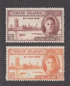 Virgin Islands Scott #88-89 MNH