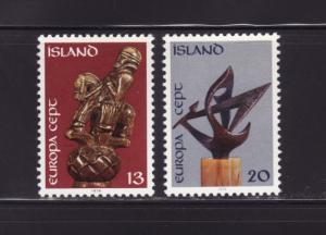 Iceland 472-473 Set MH Europa (A)