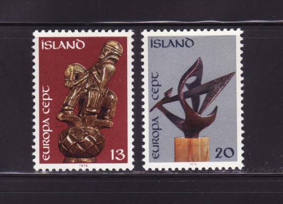 Iceland 472-473 Set MH Europa (A)