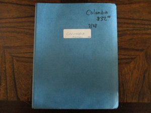 Colombia Collection / Lot / Accumulation -  WDWPhilatelic (D3E9)