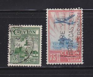 Ceylon 308, 311 U Various