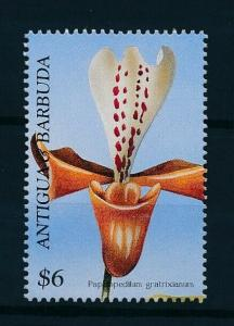 [97713] Antigua & Barbuda 1997 Flora Flowers Orchids From Sheet MNH