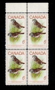 Canada - Birds  - SC496 Mint Block NH
