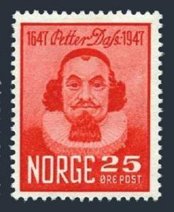 Norway 290,MNH.Michel 324. Petter Dass,poet,300th birth Ann.1947.