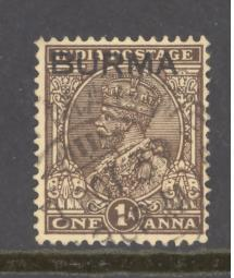 Burma Sc # 4 used (DT)