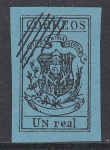 DOMINICAN REPUBLIC  An old forgery of a classic stamp.......................C916