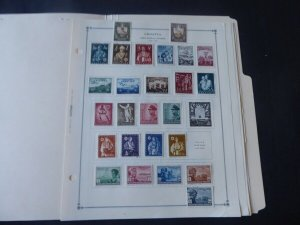 Croatia 1941-1944 Mint/Used Stamp Collection on Scott Intl Album Pages