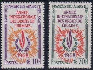 Afars and Issas 322-323 MNH (1968)