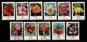 Michel#  Flowers usedself-adhesive of 2005-2014