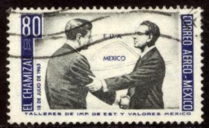 MEXICO C282 US-Mex Chamizal Treat JFK-Lopez Mateos Used(1161