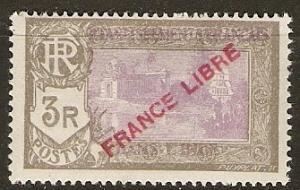 French India 133 Cer 149 MLH VF 1941 SCV $6.50