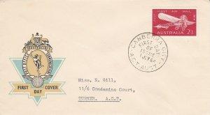 AFD1705) Australia 1964 Hermes cachet FDC