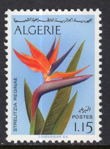 Algeria 499 Flower MNH VF