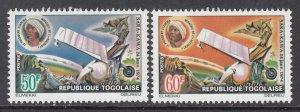 Togo 922-923 Airplane MNH VF