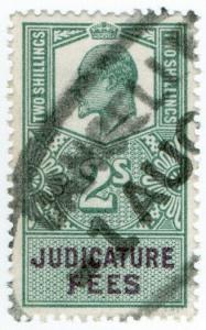 (I.B) Edward VII Revenue : Judicature Fees 2/-