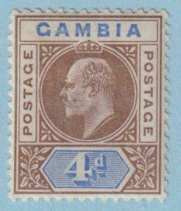 GAMBIA 33  MINT HINGED OG * NO FAULTS EXTRA FINE !