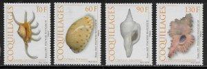 French Polynesia Scott #'s 944 - 947 MNH