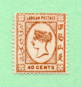 Labuan - SG# 47 MLH/ Forgery  /  Lot 0618172