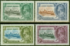 Cayman Islands 1935 Jubilee set of 4 SG108-111 Fine Lightly Mtd Mint