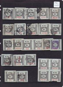 AUC10255) Queensland Railway Parcels stamps x  26