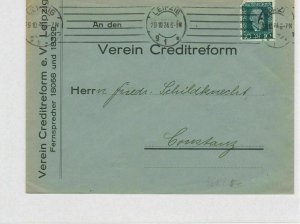 German Postal History Stamps Cover Ref: R4661