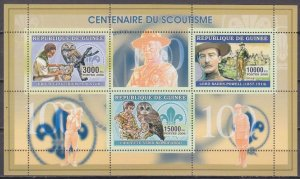 2006 Guinea 4359-61KL Scouts / Owl birds 7,50 €