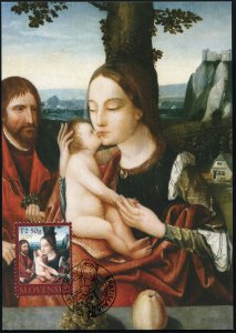 Slovakia. 2008. Holy Family (Mint) Maximum Card