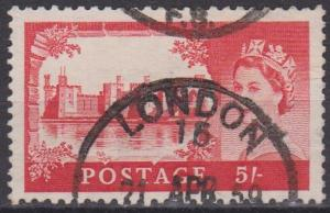 Great Britain #310 F-VF Used  CV $3.50 (ST532)