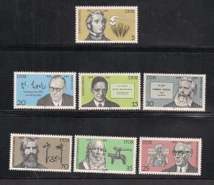 GERMANY - DDR SC# 1926-32 VF MNH 1978