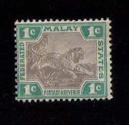 Federated MALAY States Sc 18a MH VF