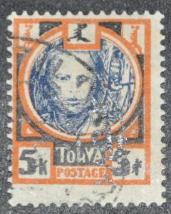 DYNAMITE Stamps: Tannu Tuva Scott #19 – USED