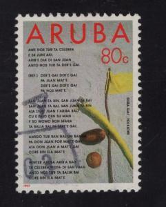 Aruba   #94  1993   used   folklore   80c
