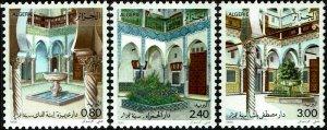 Algeria #814-16  MNH - Inner Courtyards (1986)