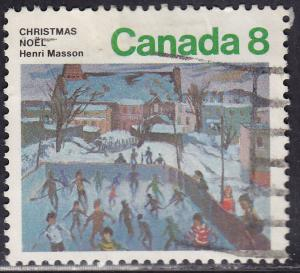 Canada 651 USED 1974 Skaters At Hull, Quebec 8