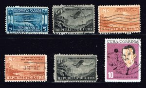 CUBA STAMP USED Stamps Collection Lot #S1