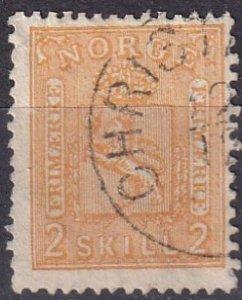 Norway #12  F-VF  Used  CV $55.00  (Z7990)