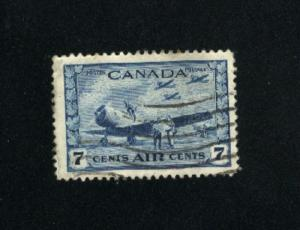 Canada #C8  1  used  1942-43 PD