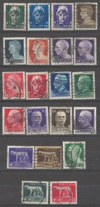 COLLECTION LOT # 4963 ITALY #213-31 WMK 140 COMPLETE SET 1929+ CV+$96