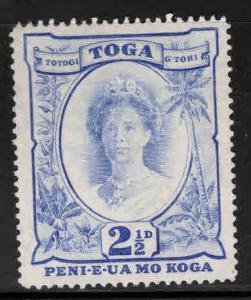 TONGA  Scott 76  Mint No Gum, Queen Salote stamp