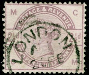 SG190, 2½d lilac, USED, CDS. Cat £18. CM