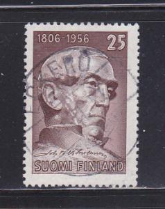 Finland 339 Set U Johan V Snellman, Statesman (D)