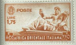 AlexStamps ITALIAN EAST AFRICA #14  Mint